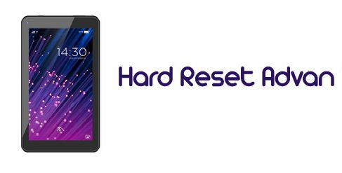 cara hard reset hp advan