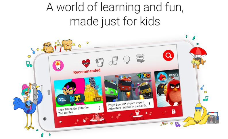 Cara blokir YouTube di Hp Android Kids