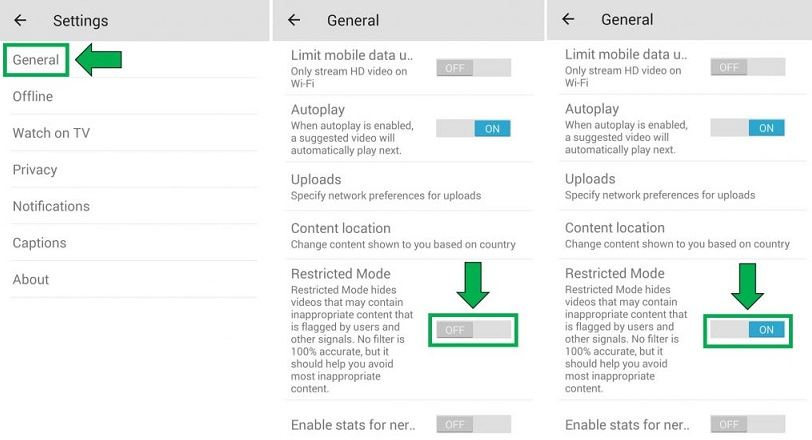 Cara blokir YouTube di Hp Android