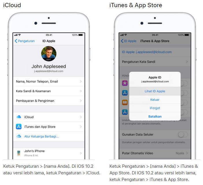 Cara Membuat Apple Id Baru Di Iphone Atau Ipad Terbaru Hp Sultan